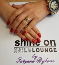 Shellac Xmas Nail Art