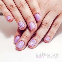 Manicure with weekly color & Nail Art